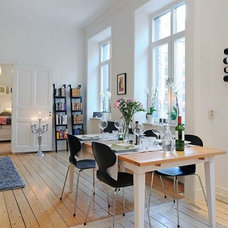 Contemporary Dining Room appartment