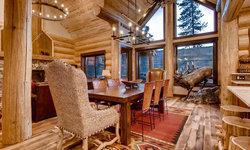 Apre Ski Spruce Log Cabin