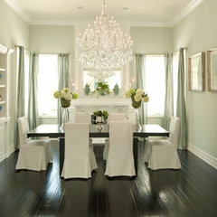eclectic dining room by Alexandra Rae