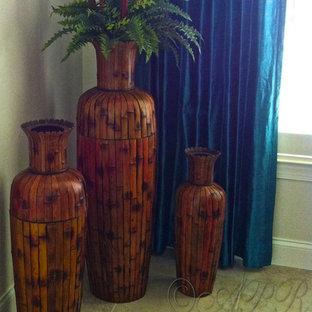 Idee per una sala da pranzo tropicale