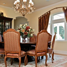 Traditional Dining Room by Finishing Touches