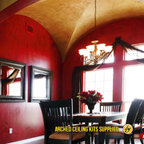 Arched Ceilings Contemporary Kitchen Dallas By