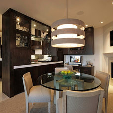 Contemporary Dining Room by Roxbury Studios