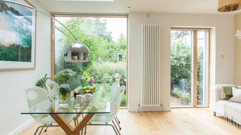 Architect's house and garden in Central Bristol