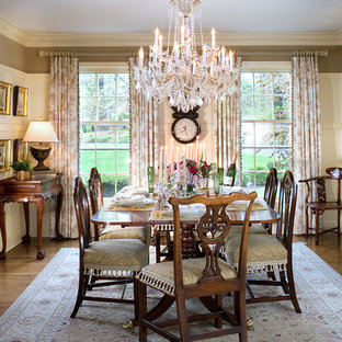 Architectural details add elegance and sophistication to the NJ Dining Room