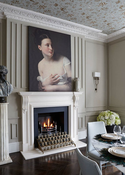 Traditional Dining Room by Chesneys