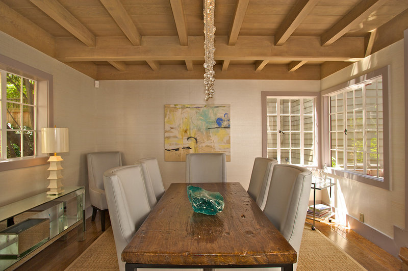 Contemporary Dining Room by Ed Ritger Photography