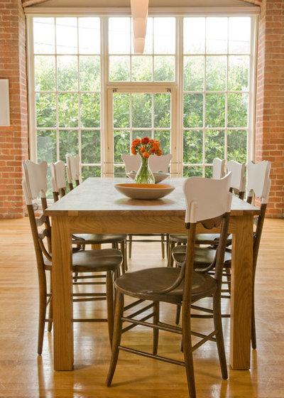 Rustic Dining Room by Ed Ritger Photography