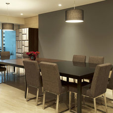 Contemporary Dining Room ARCO Arquitectura Contemporanea
