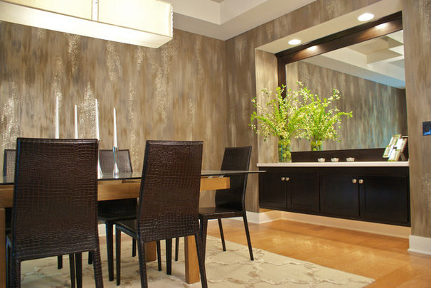 Contemporary Dining Room by Designs on Madison