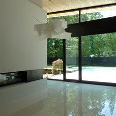 Modern Dining Room by Cablik Enterprises