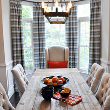 Farmhouse Dining Room by Lapis Ray Interior Design