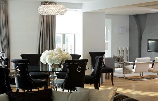 Contemporary Dining Room by Suna Interior Design