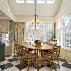 Traditional Dining Room by Michael McCann Architect in Westchester NY