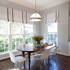 Contemporary Dining Room by Sally Wheat Interiors