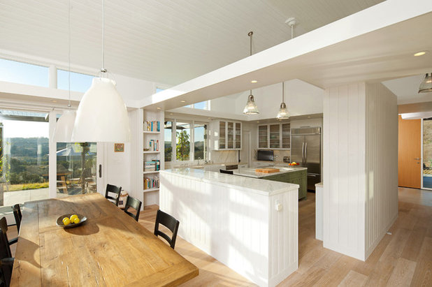 Farmhouse Dining Room by Gast Architects