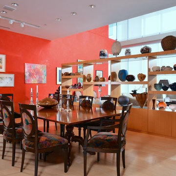 Art Collector's Dining Room