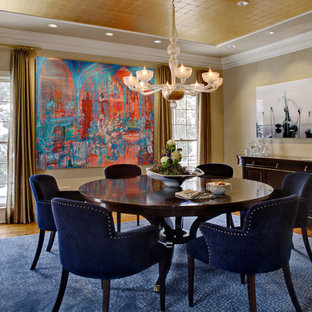 Art collectors' transitional home