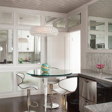 Contemporary Dining Room by Favreau Design