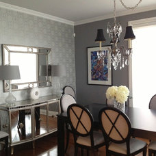 Contemporary Dining Room by Rebecca Mitchell Interiors & Boutique