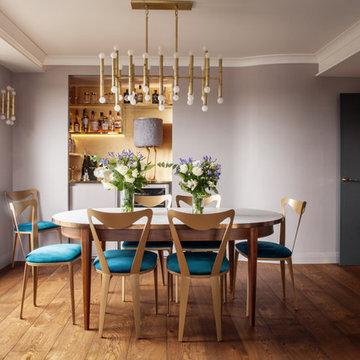 Art Deco Inspired Riverside Flat : Bermondsey