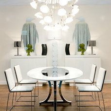 modern dining room by Imagine Living