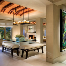 Contemporary Dining Room by GRAHAM architecture