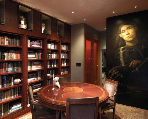 Dining Room Turned Library