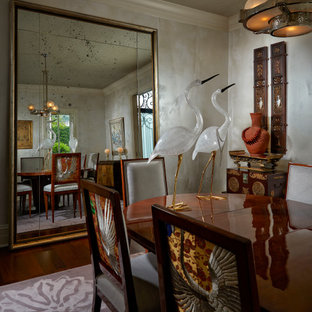Artfully Curated In Palm Beach: Dining Room