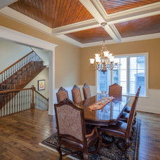 Traditional Dining Room by Greenside Design Build LLC