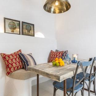 Foto di una sala da pranzo stile shabby