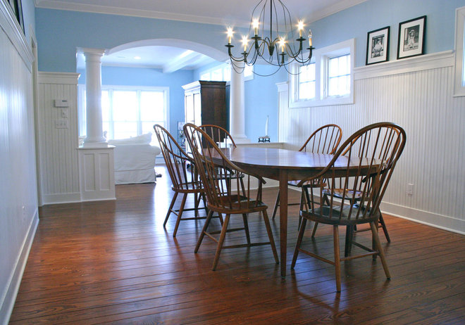 Traditional Dining Room by Highland Builders LLC
