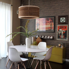Modern Dining Room by Natalie Younger Interior Design, Allied ASID