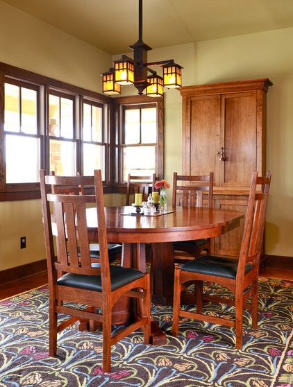 Traditional Dining Room by NR Interiors