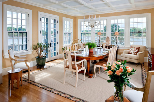 Traditional Dining Room by Margolis, Incorporated