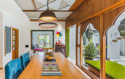 6 Indian Homes Harmoniously Blend Tradition & Modernism
