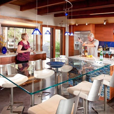 Contemporary Dining Room by Signature Designs Kitchen & Bath