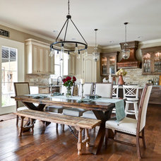 Traditional Dining Room by Cobblestone Homes