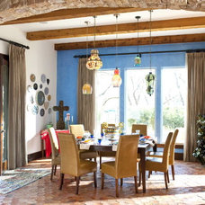 Eclectic Dining Room by Astleford Interiors, Inc.