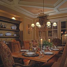 Traditional Dining Room by Design Basics Home Plans