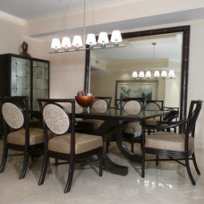 Asian Dining Room by Michael Segal