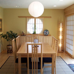 asian dining room by Magnotta Builders & Remodelers