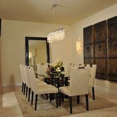 Asian Dining Room by Bandon Blue Designs