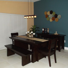 Asian Dining Room Asian inspired diving room