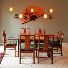Asian Dining Room by Kit Golson Design