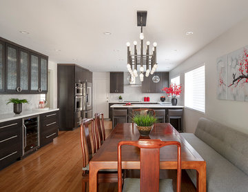 Asian Modern Kitchen and Dining