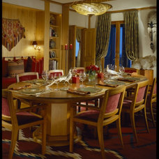 Eclectic Dining Room by Robert Couturier