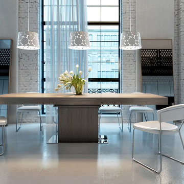 Astor Contemporary Dining Table by ModLoft