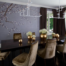Contemporary Dining Room by Kathryn MacDonald Photography & Web Marketing