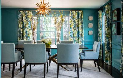 New This Week: 6 Daring Dining Rooms